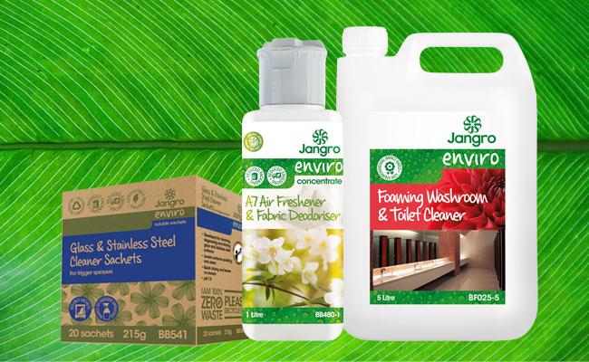 Jangro Enviro Cleaning Range