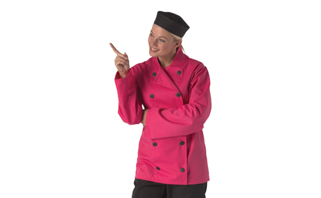 Pink Chef Jackets