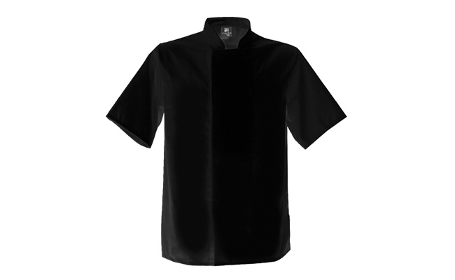 Black Coolmax Chef Jackets