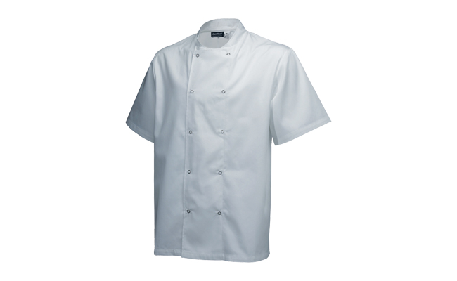 White Chef Jackets Short Sleeve