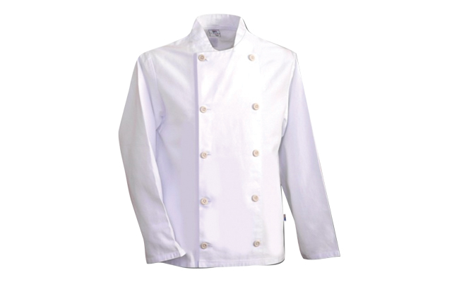 White Chef Jackets Long Sleeves