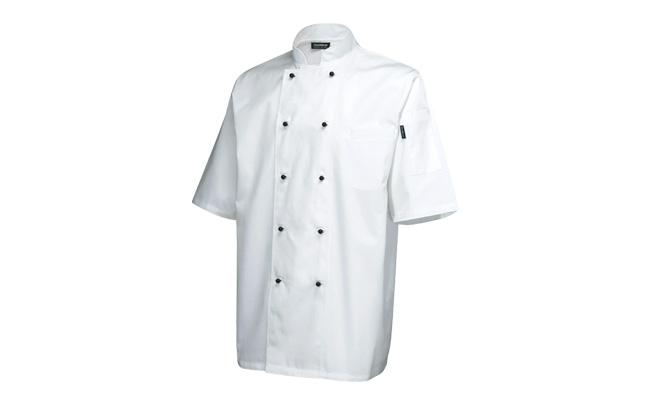 Superior Short Sleeve White Chef Jackets