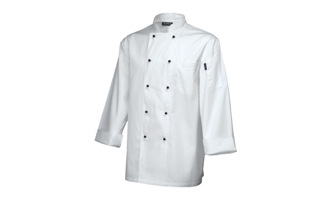 Superior Long Sleeve White Chef Jackets