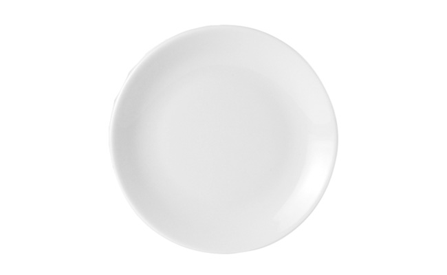 Porcelite Plates Standard White