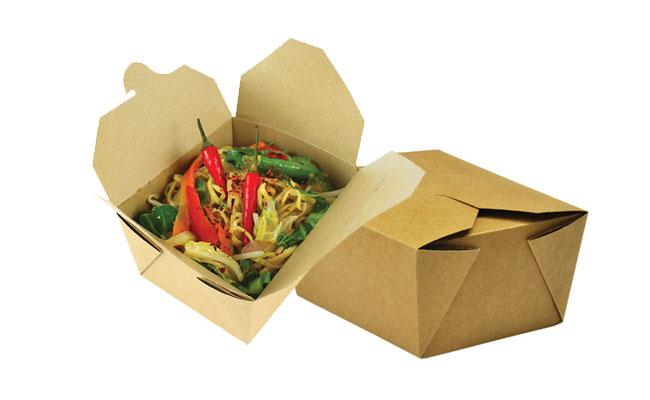 Bamboo Food Service Cartons