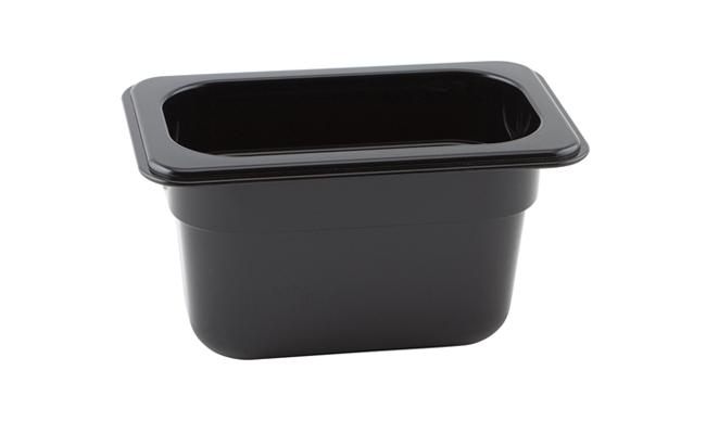 Black Polycarbonate Gastronorm Pans
