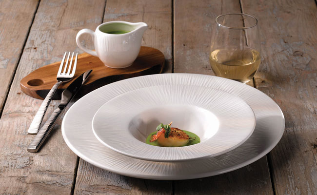 Churchill Bamboo White Crockery