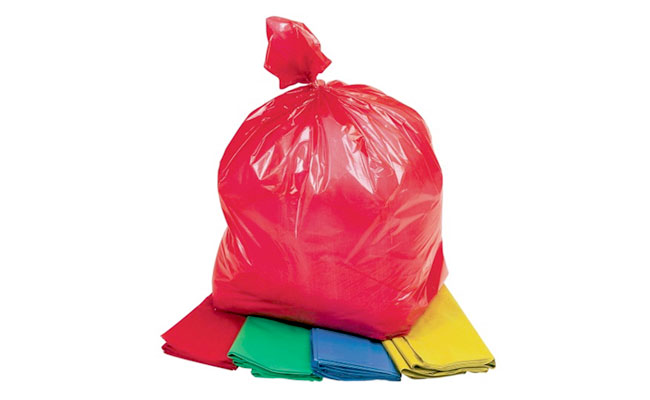 Coloured Bin Bags