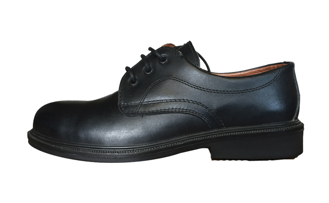Comfort Grip Executive Black Safety Shoes