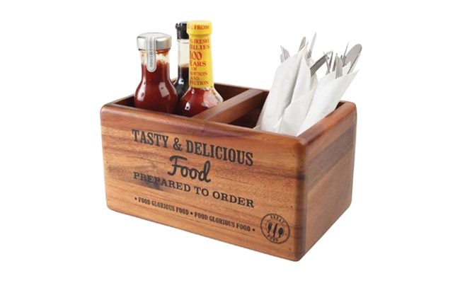 Condiment Holders & Table Tidies