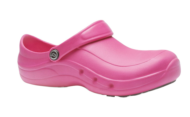 EziProtekta Kitchen Safety Pink Chef Shoes