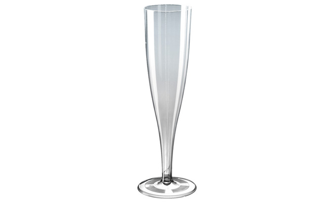 Plastic Champagne Flutes