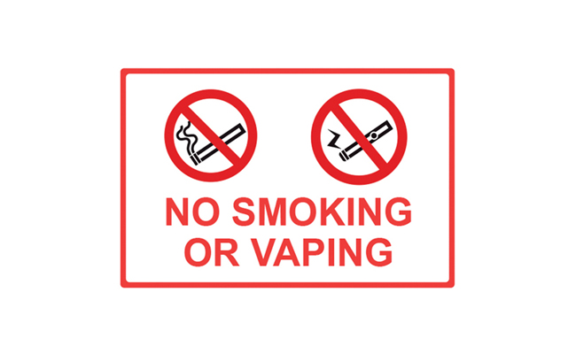Smoking Policy Signs