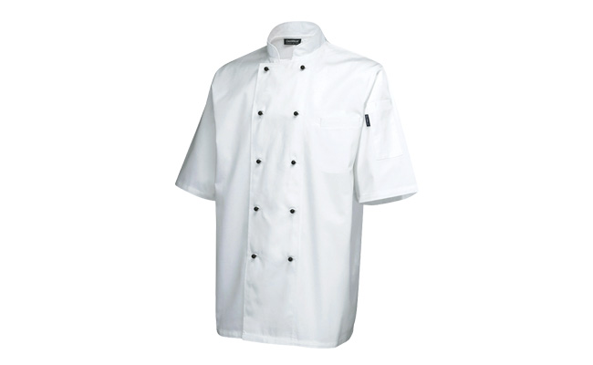 Superior Short Sleeve White Chef Jackets