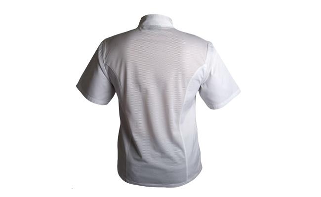 White Coolmax Chef Jackets