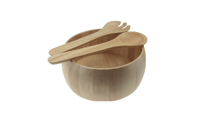 Wooden Food Bowls
