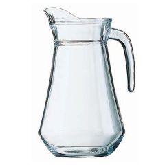 Arcoroc Plain Lipped Glass Jug 54oz 1.5ltr