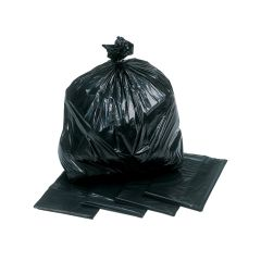 "Black Refuse Bags 140g 18""x29""x34"""