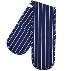 Butchers Stripe Double Oven Glove