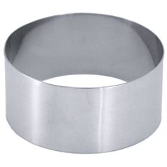 Stainless Steel Mousse Ring 35x70mm
