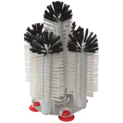 5 Brush Manual Glass Washing Unit