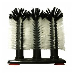 3 Brushes Manual Glass Washer Brush