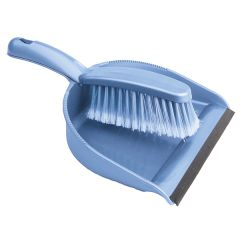 Cornflower Blue Dustpan & Brush Set