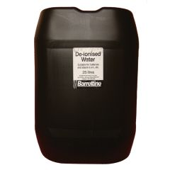 De-Ironised Water 25ltr