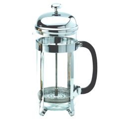 Chrome Cafetiere 6 Cup