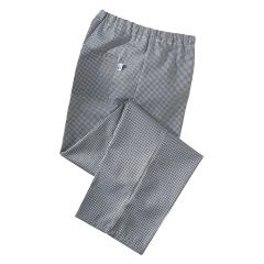 Gingham Black Chef Trousers (S)