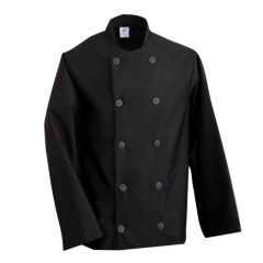Black Long Sleeve Chefs Jacket (S)