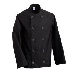 Black Long Sleeve Chefs Jacket (M)