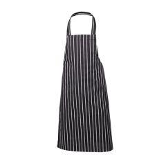 Butchers Apron Navy Stripe