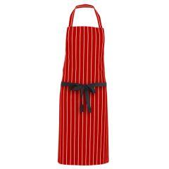 Butchers Apron Red Stripe