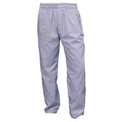 Blue Gingham Chef Trousers (M)