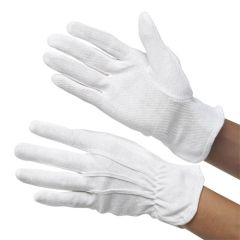 White Waiters Heat Resistant Gloves (L)