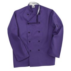 Purple Long Sleeve Chef Jacket (L)