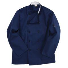 Navy Blue Long Sleeve Chef Jacket(XL)