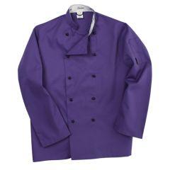 Purple Long Sleeve Chef Jacket (XL)