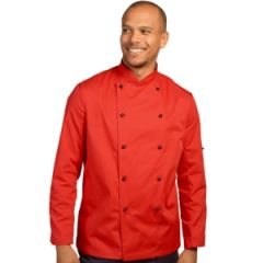 Red Long Sleeve Chef Jacket (XXL)