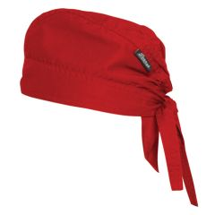 Red Bandana Chef Cap