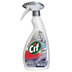 Cif 2-in-1 Washroom Cleaner 750ml