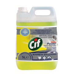 Cif Power Cleaner Degreaser 5ltr