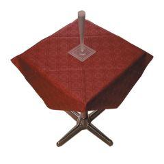 Tork Burgundy Paper Tablecloths 90x90cm