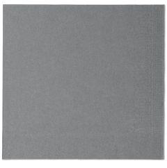 Grey Paper Napkins 39cm 2ply (12x150)