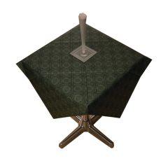 Tork Pine Green Paper Tablecloths 90x90cm (25)