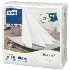 Tork Linstyle White Napkin 39cm
