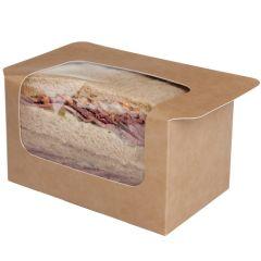 Heat Seal Kraft Sandwich Pack (500)