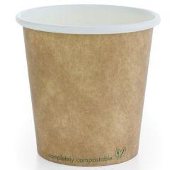 Vegware Brown Kraft Hot Cup 4oz (1000)