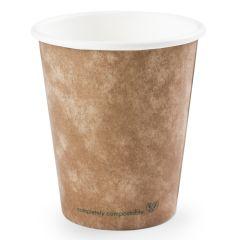 Vegware Brown Kraft Hot Cup 6oz (1000)